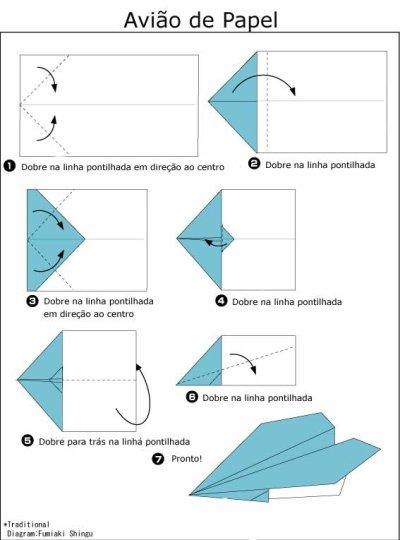 Diagrama de Origami de Coração