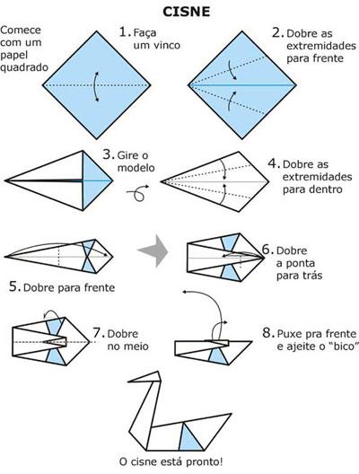 Origami de Cisne