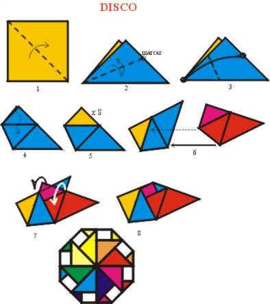 Origami de Disco