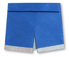 Origami de Shorts, Bermuda