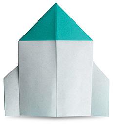 Origami de Foguete